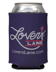 LOVER'S LANE KOOZIE CAN COOLER - PURPLE