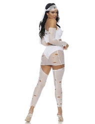 Alternate back view of IT'S A WRAP MUMMY COSTUME