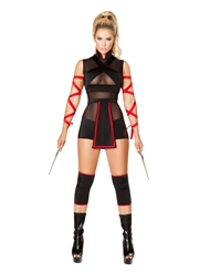 NINJA STRIKER - 3 PIECE COSTUME