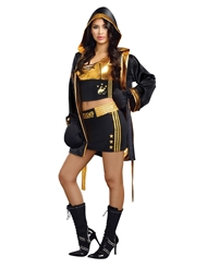 WORLD CHAMPION BOXER COSTUME - WOMEN'S