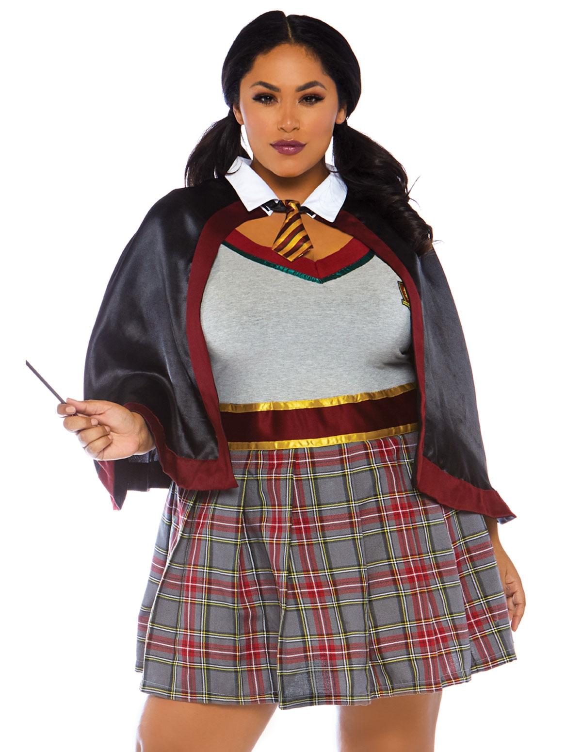 2Pc. Spellbinding Plus Size School Girl