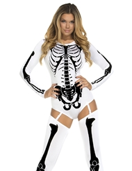 BONE-A-FIDE SEXY SKELETON COSTUME