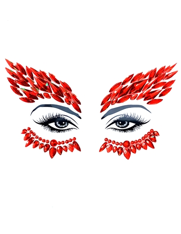 DEVILS ADVOCATE WINGS FACESTIX FACE CRYSTALS