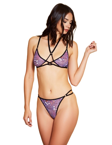DOWN THE GARDEN PATH BRA AND PANTY SET