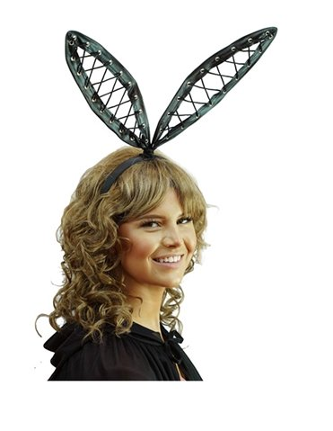 LACE UP BUNNY EARS