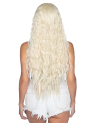 Alternate back view of BEACHY WAVE WIG