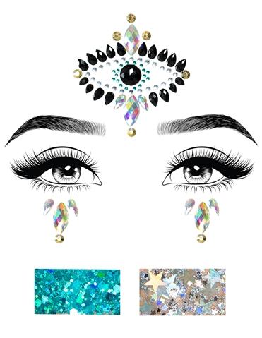 DIVINITY ADHESIVE FACE JEWELS