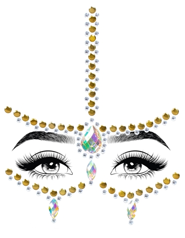 EDEN ADHESIVE FACE JEWELS