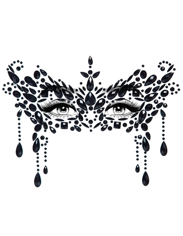MASQUERADE ADHESIVE FACE JEWELS