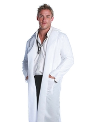 Alternate front view of LAB COAT