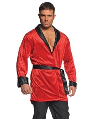 Alternate front view of SMOKING JACKET