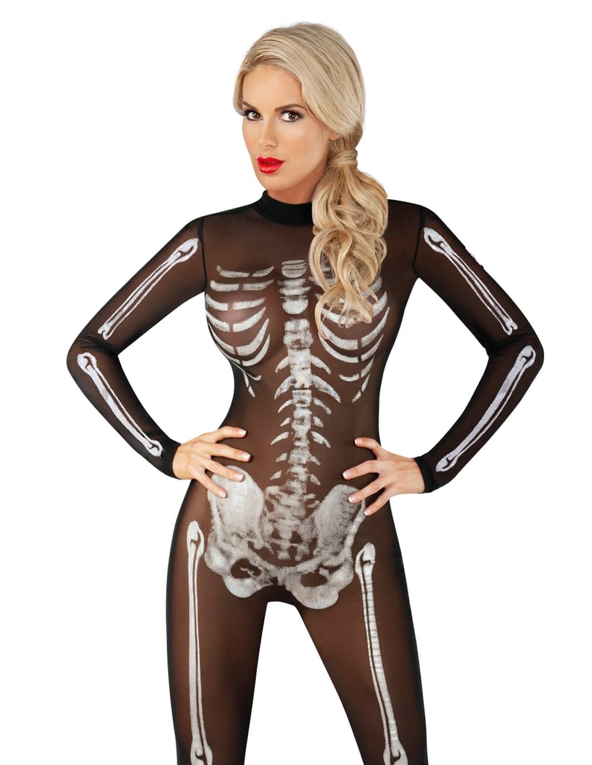 Scantily Skeletal Body Suit