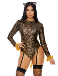 Alternate front view of MEOW CATSUIT