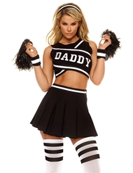 Alternate front view of DADDYS GIRL CHEERLEADER