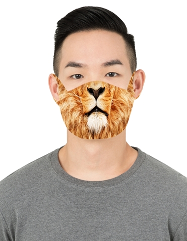 LION FACE MASK