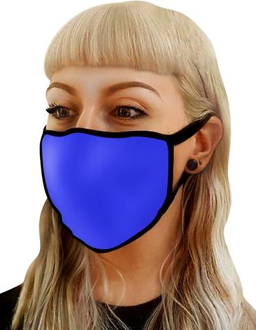 BLUE WASHABLE MASK