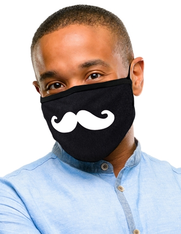 MUSTACHE WASHABLE MASK