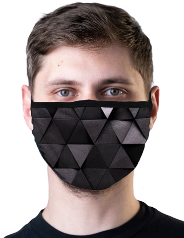 TRIANGLES WASHABLE MASK
