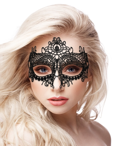 QUEEN LACE MASK
