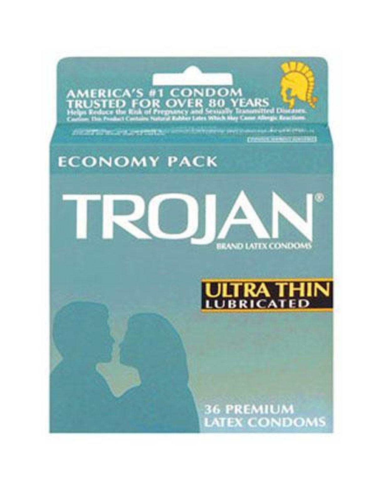 Trojan 36Pk Ultra Thin