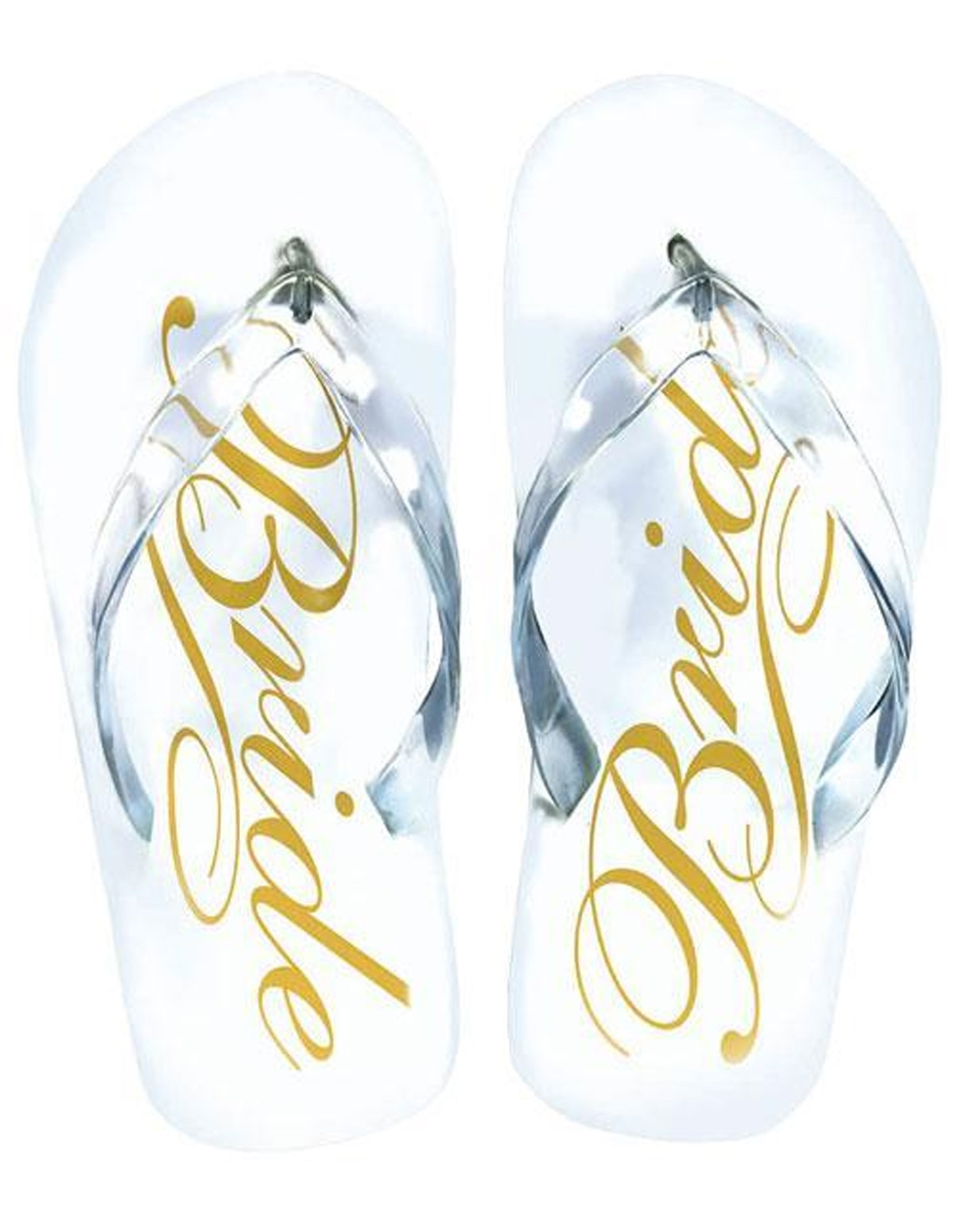Bride Flip Flops Os