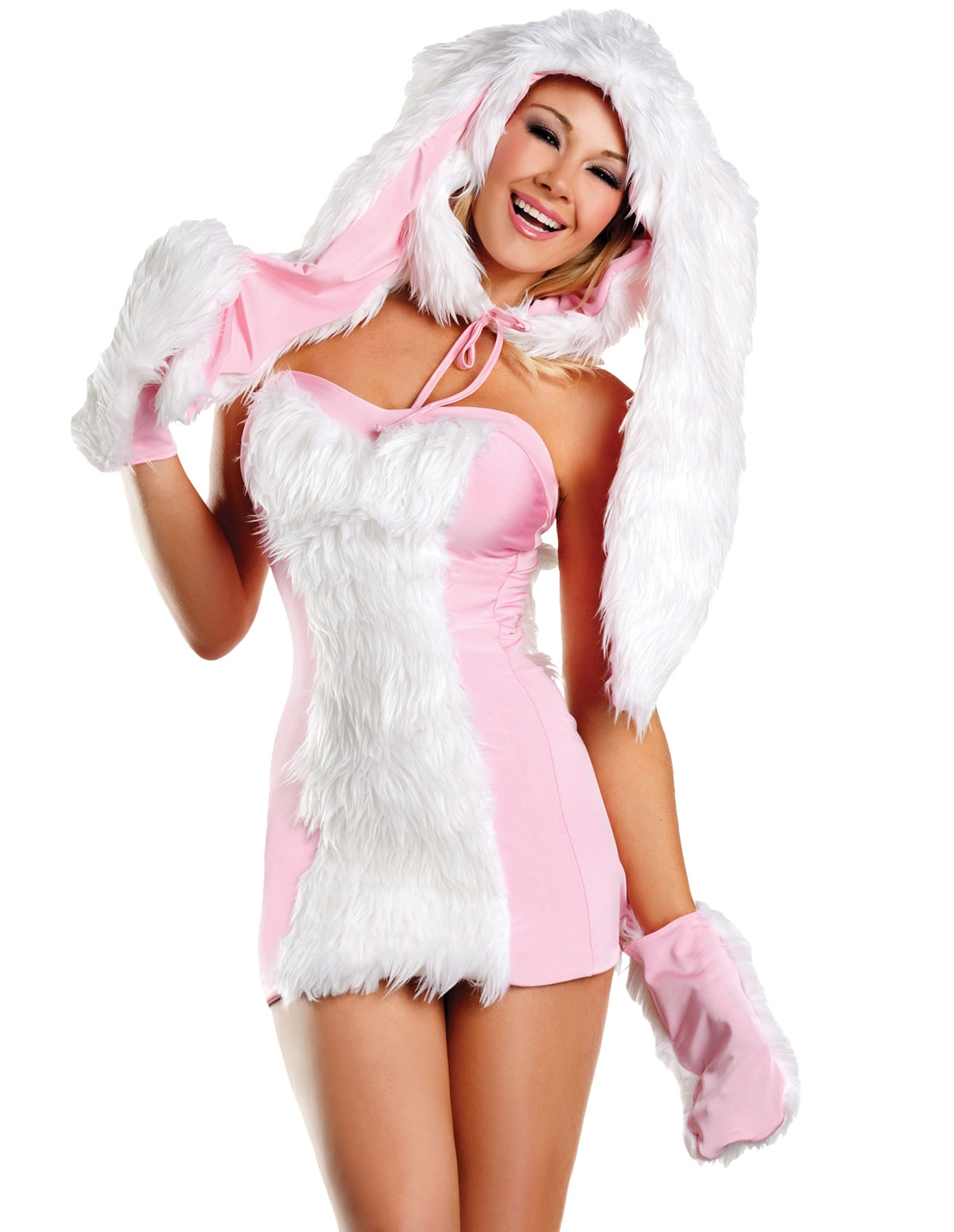 Blushing Bunny Costume