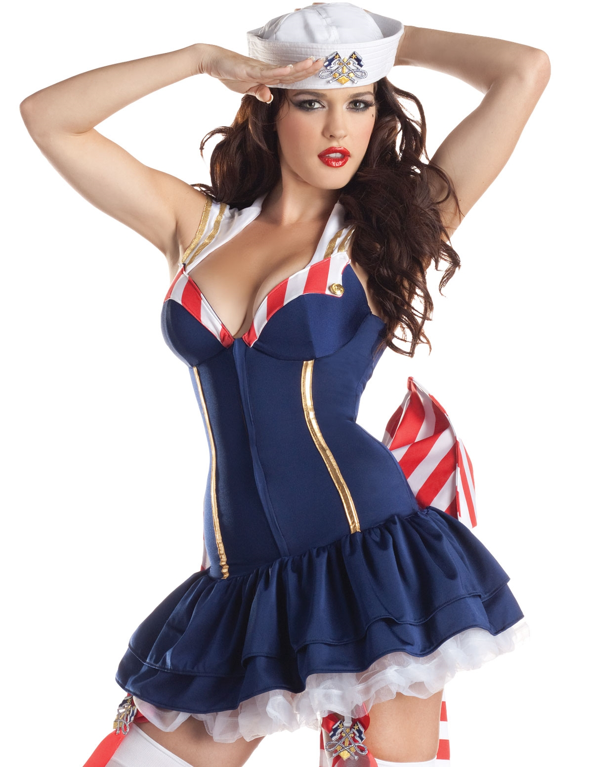 Shaper Pin-Up Sailor Costume