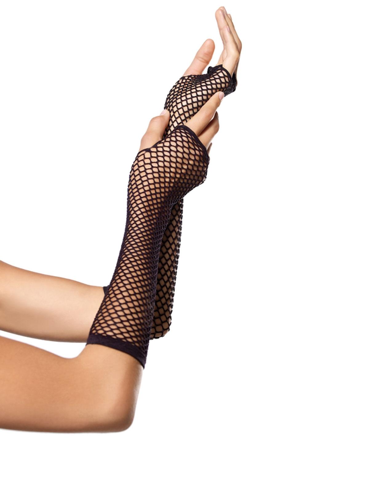 Triangle Net Gloves
