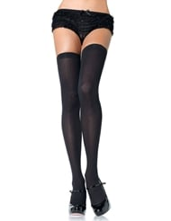 Alternate front view of OVER THE KNEE PLUS SIZE THIGH HIGH