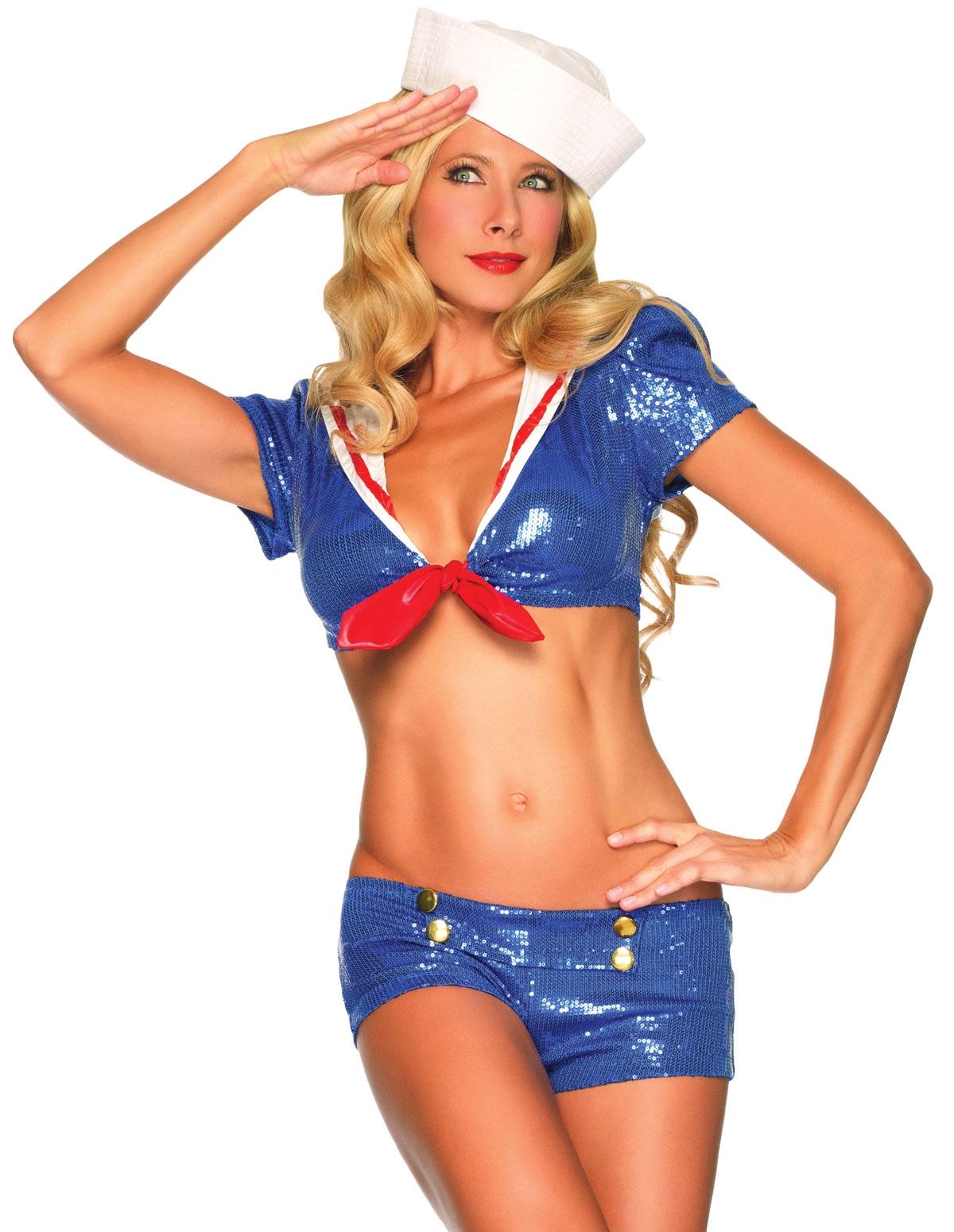 Sequin Sailor Costume