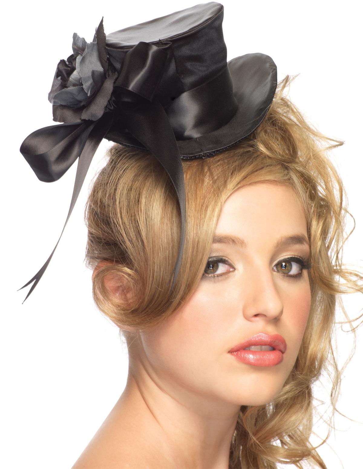 Top Hat W/Flower