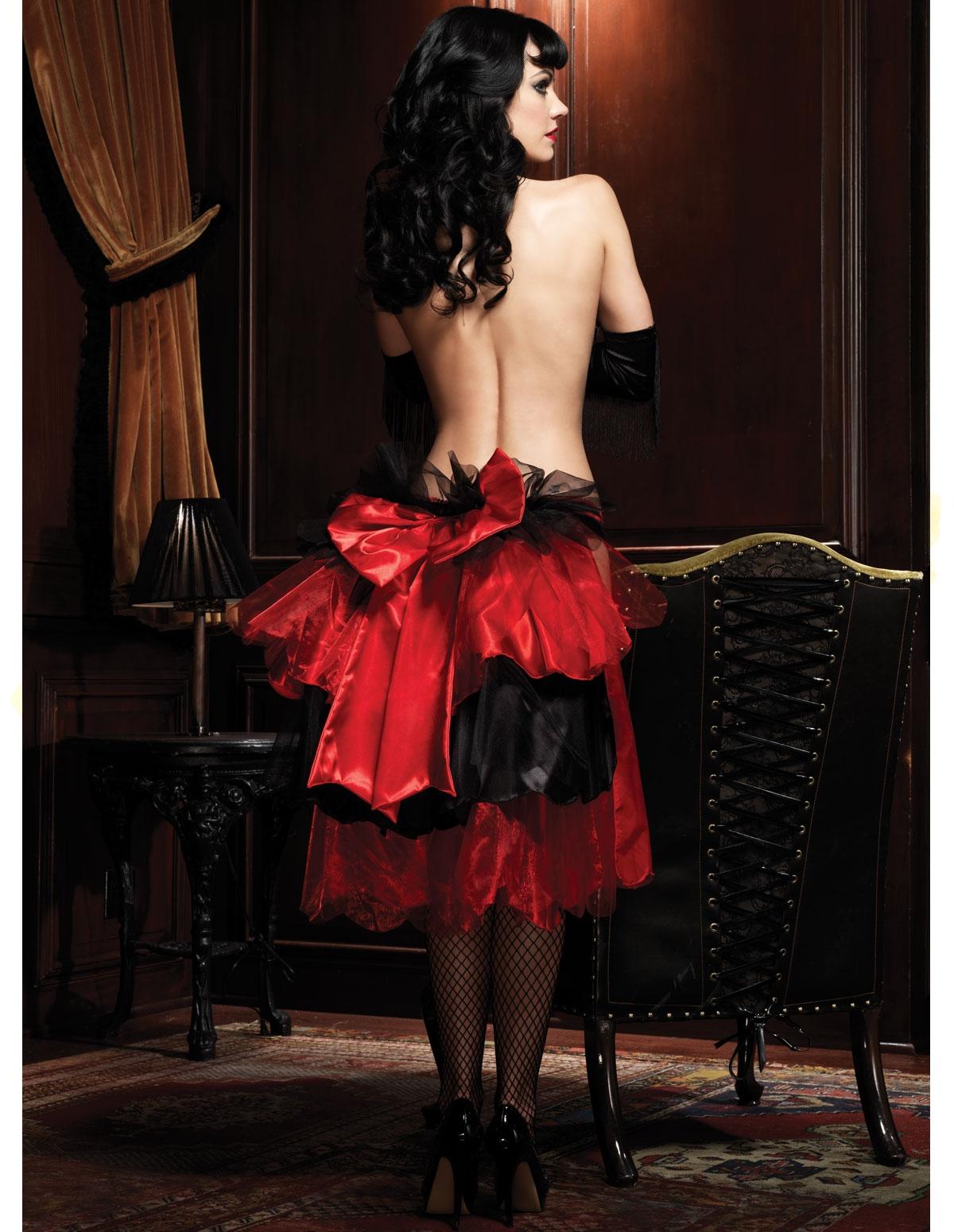 Big Bow Bustle Skirt