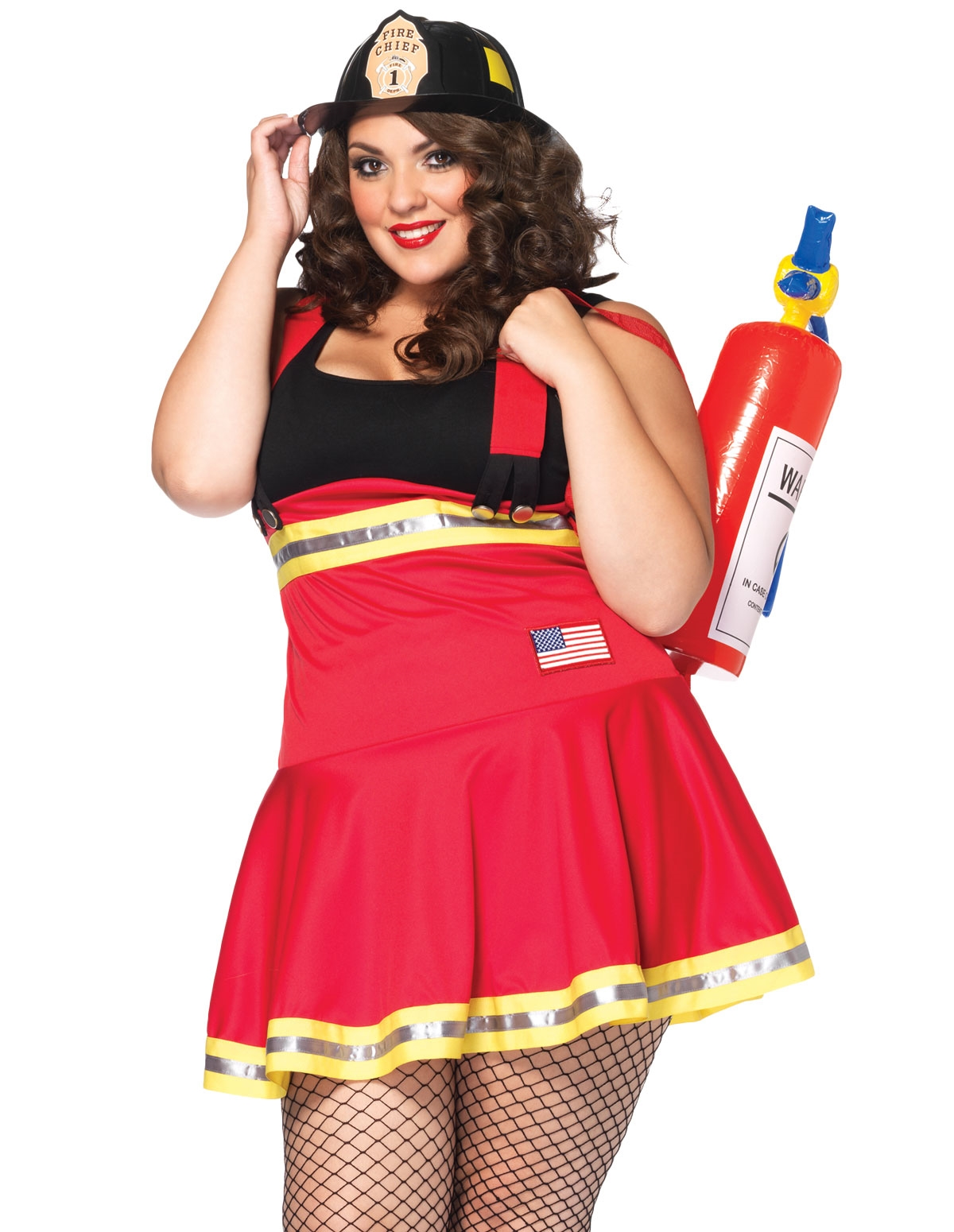 Three Alarm Hottie Costume - Plus