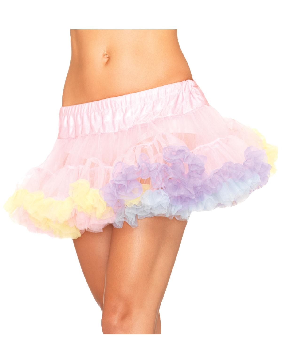 Rainbow Mini Petticoat