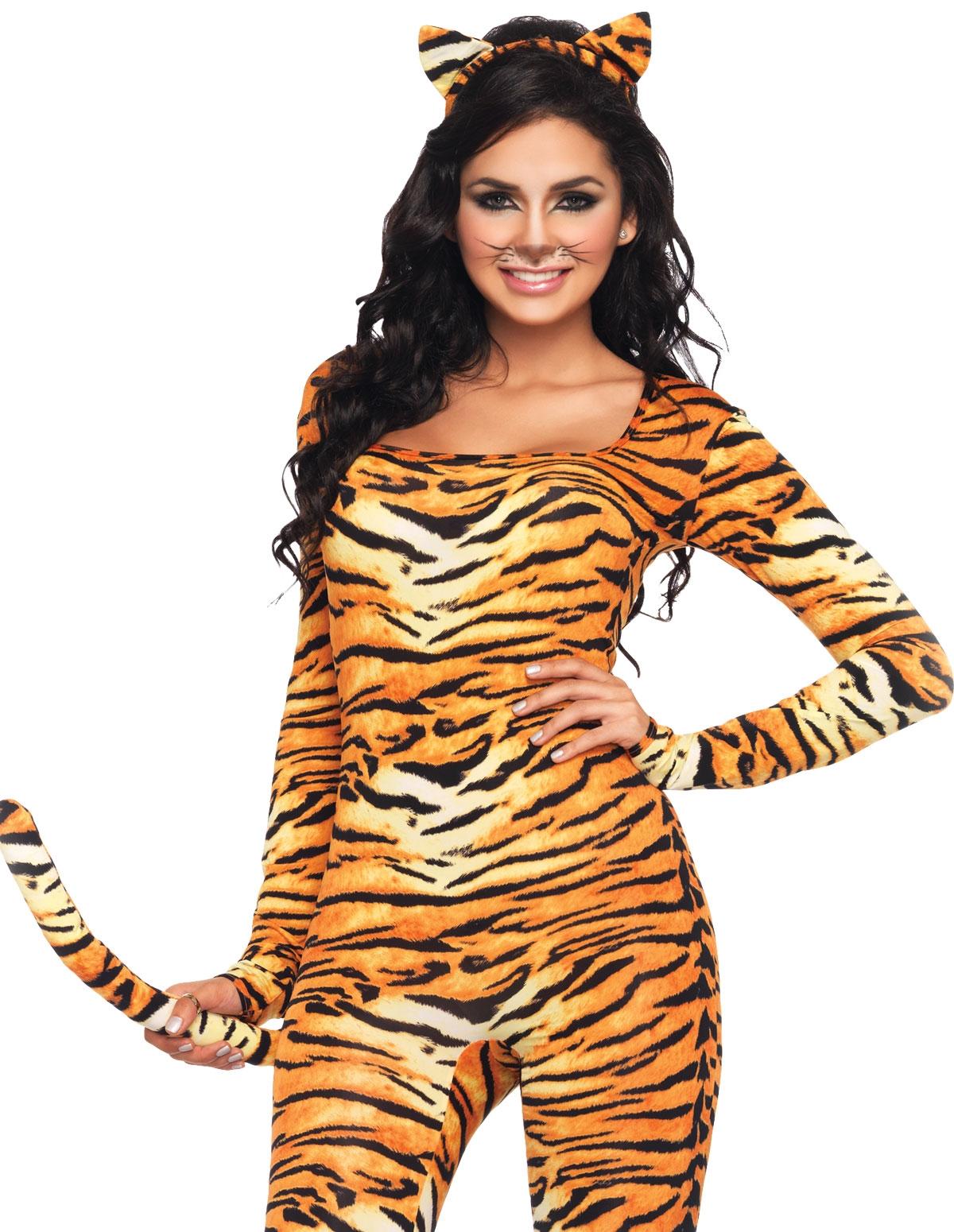 Wild Tigress Costume