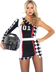 1ST PLACE RACER ROMPER COSTUME