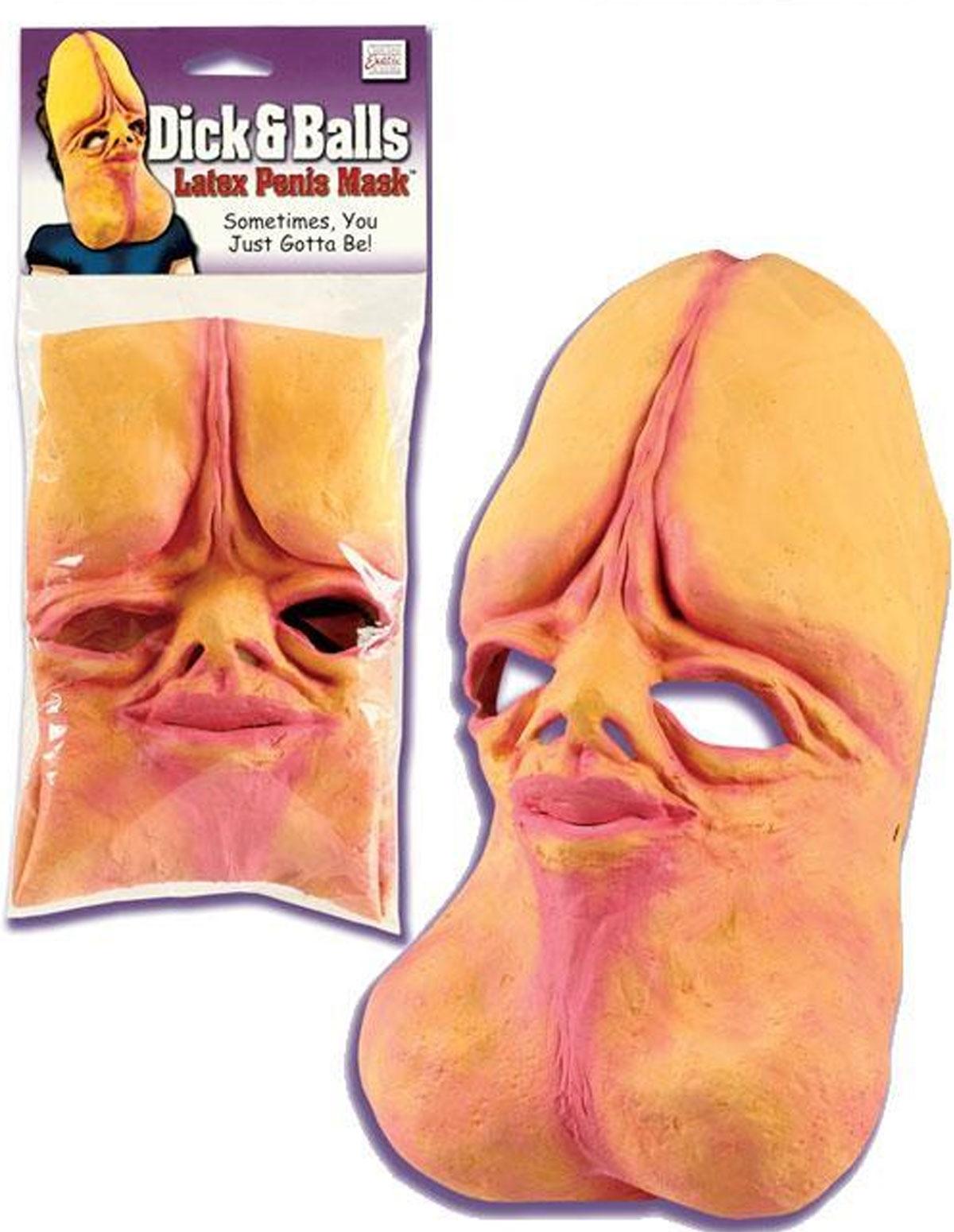 Dick & Balls Mask