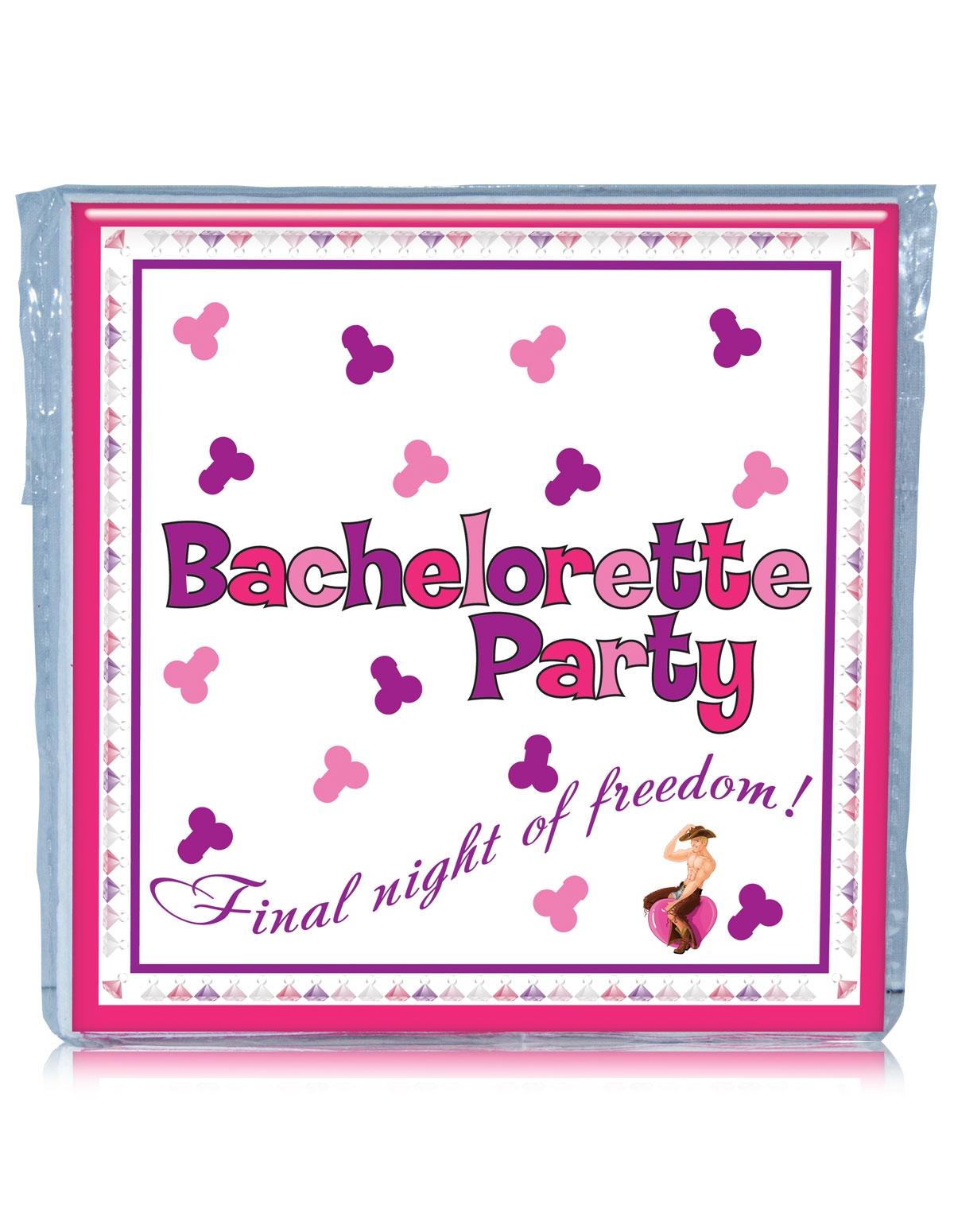 Bachelorette Trivia Napkins