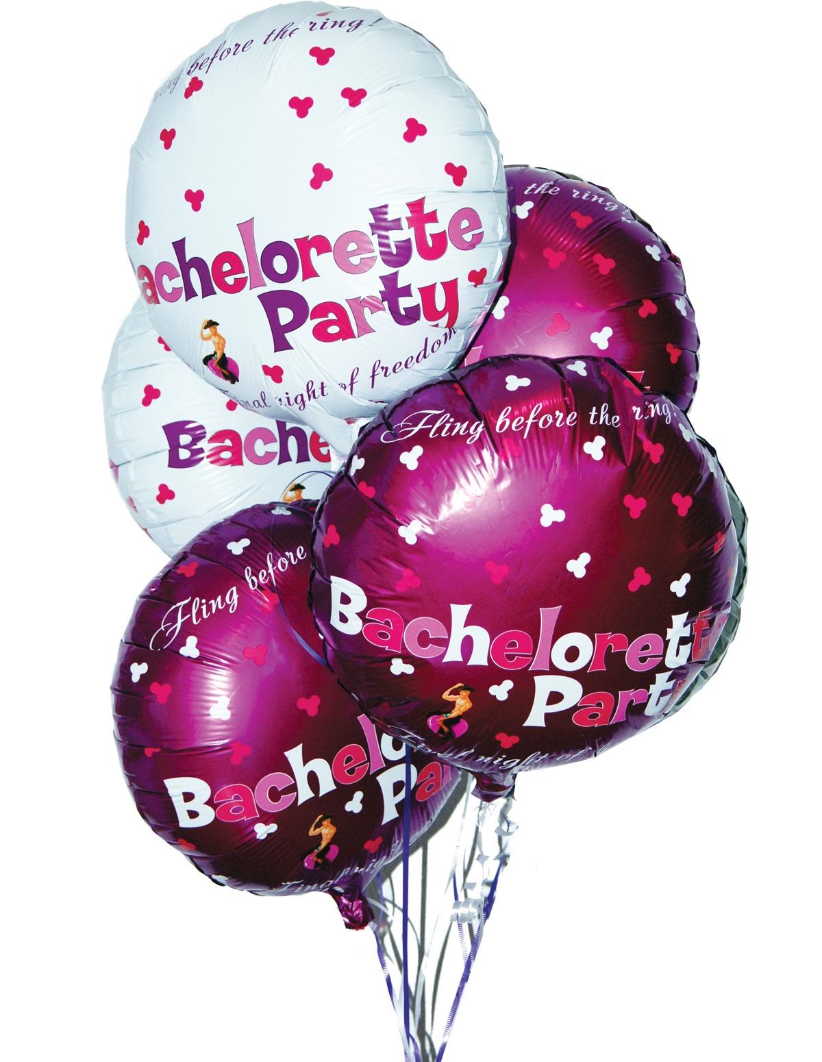Bachelorette Foil Balloons