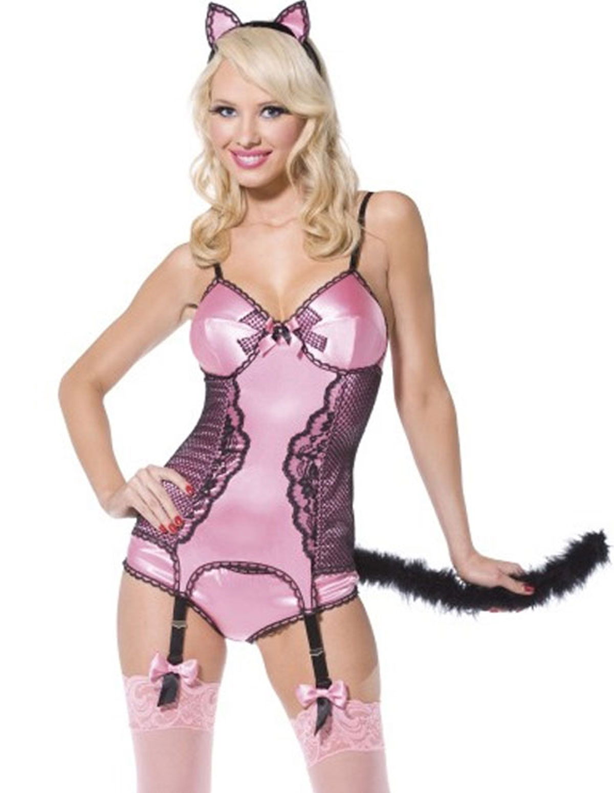 Pin-Up Kitty Costume