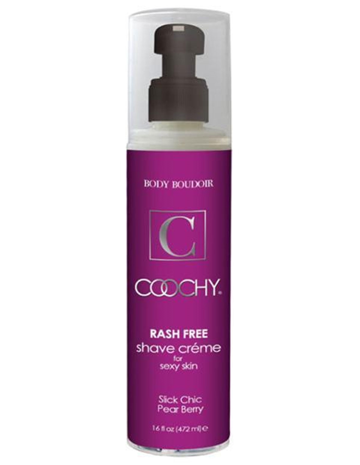 Coochy Pear Berry Shave Creme 16 Oz