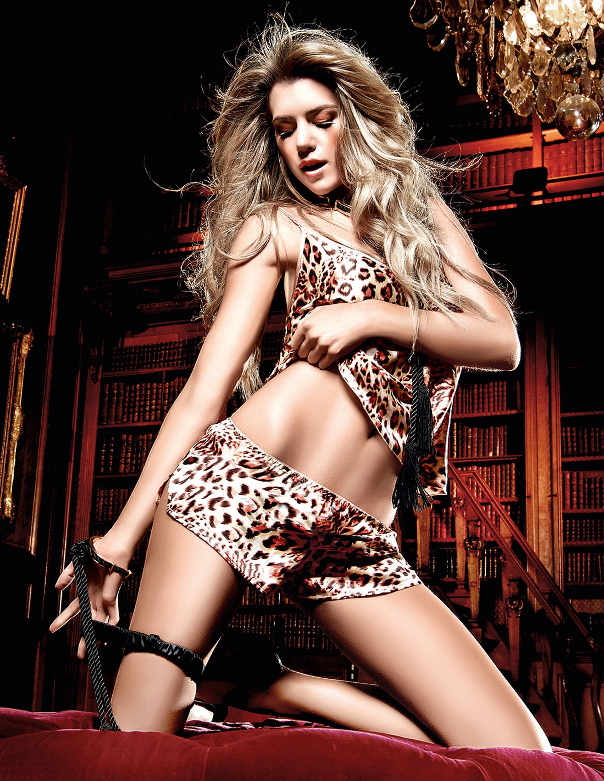 Leopard Cami Set