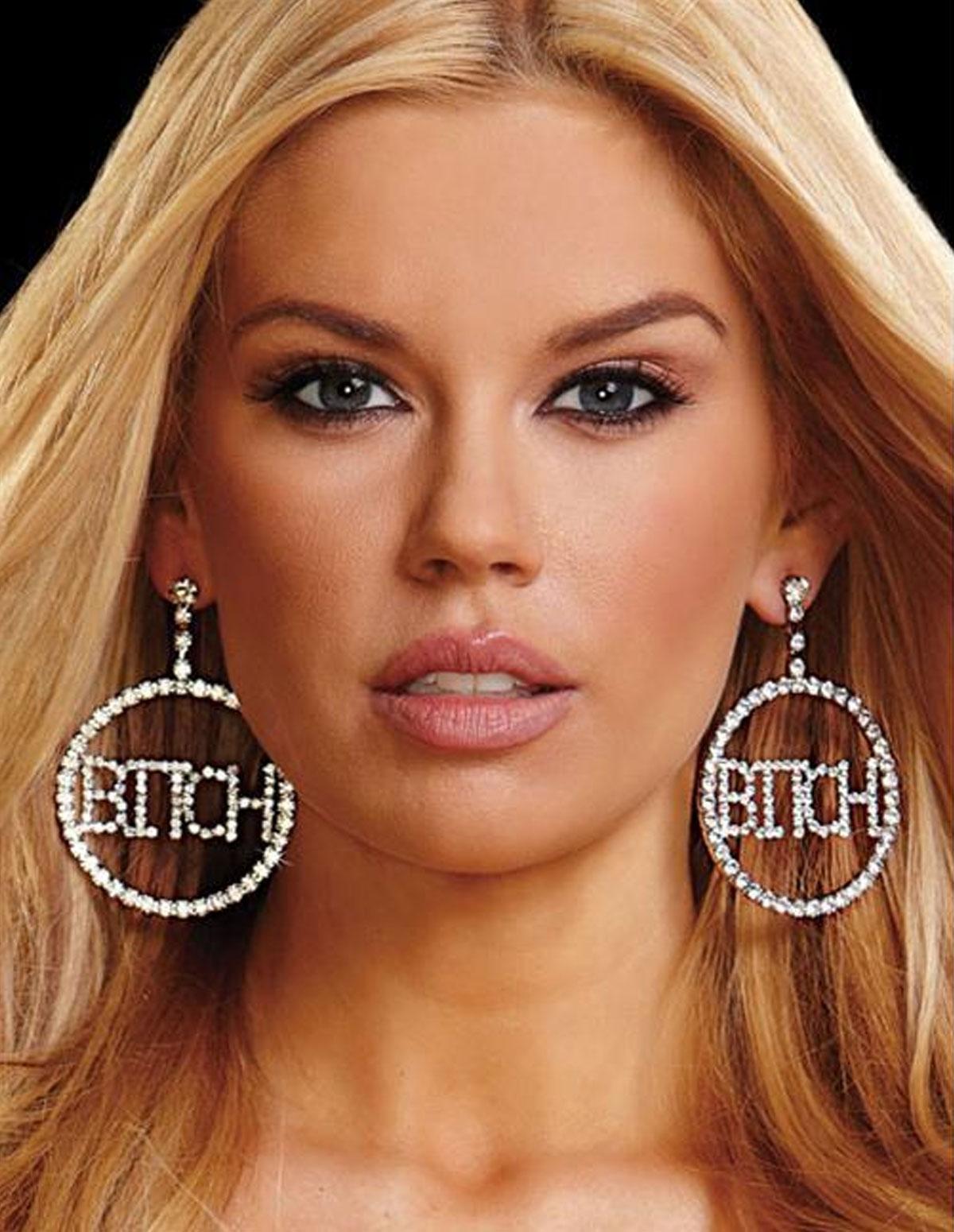 Bitch Earrings