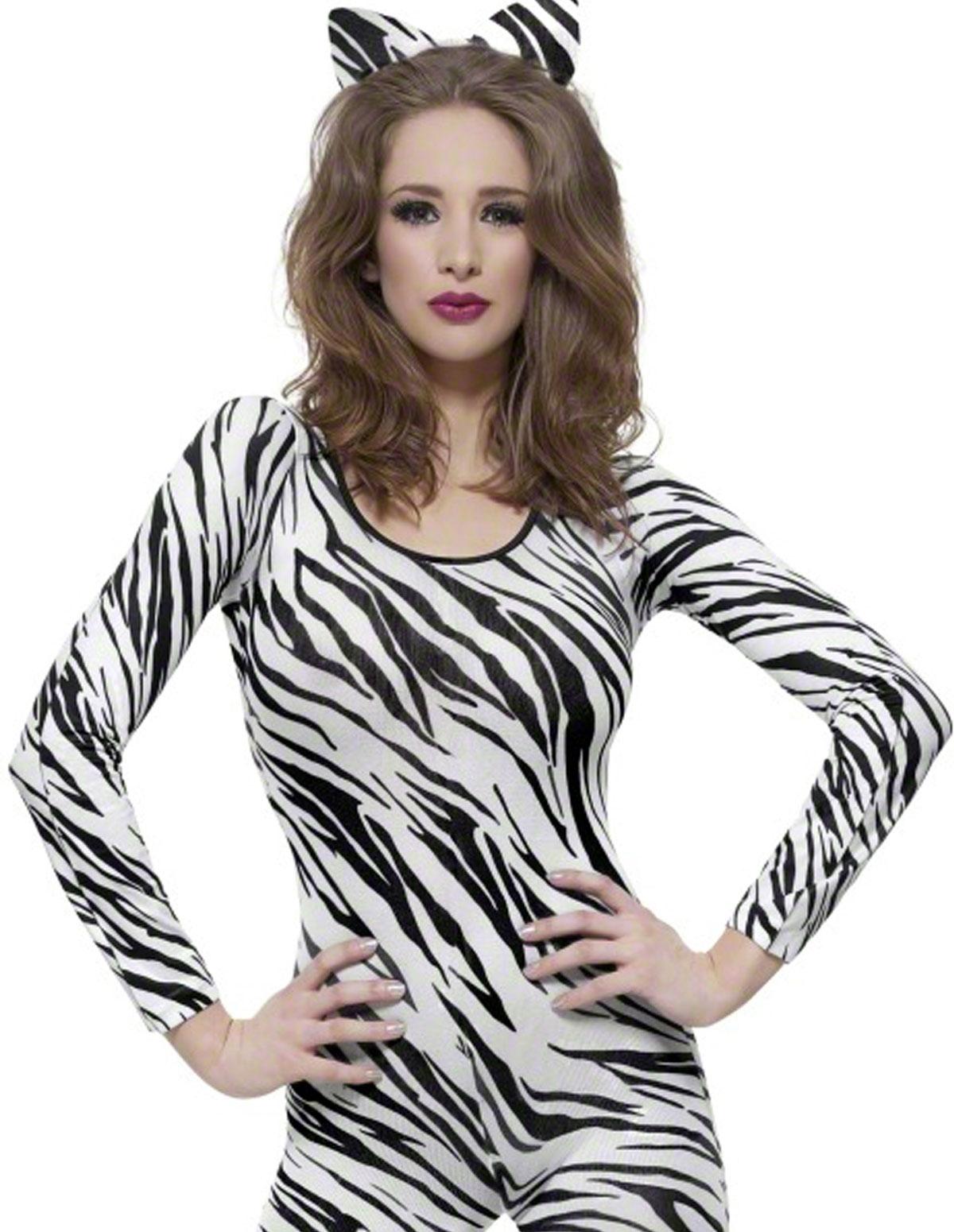 Zebra Fever Bodystocking