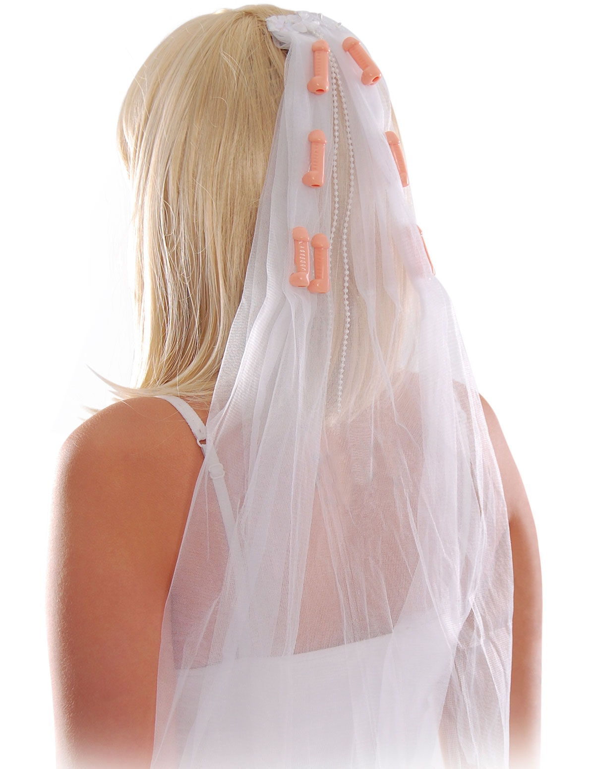 Bachelorette Pecker Veil