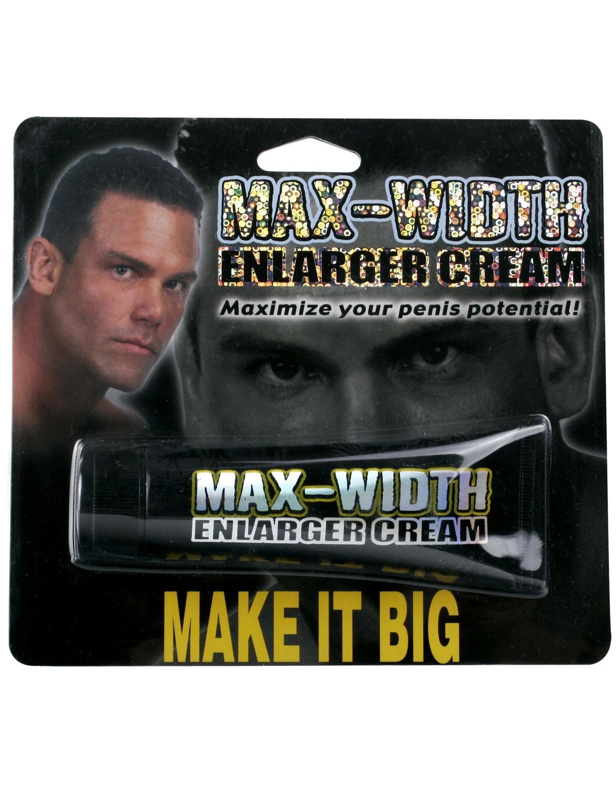 Max Width Enlarger Cream