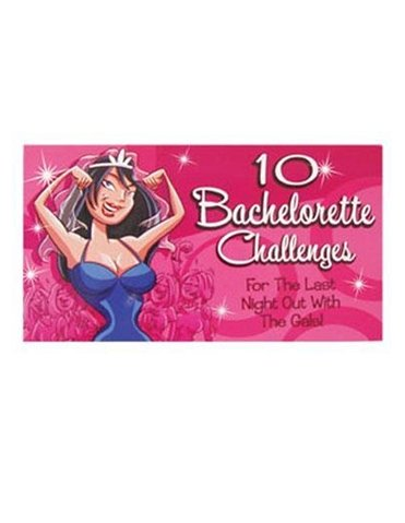10 BACHELORETTE CHALLENGES GAME