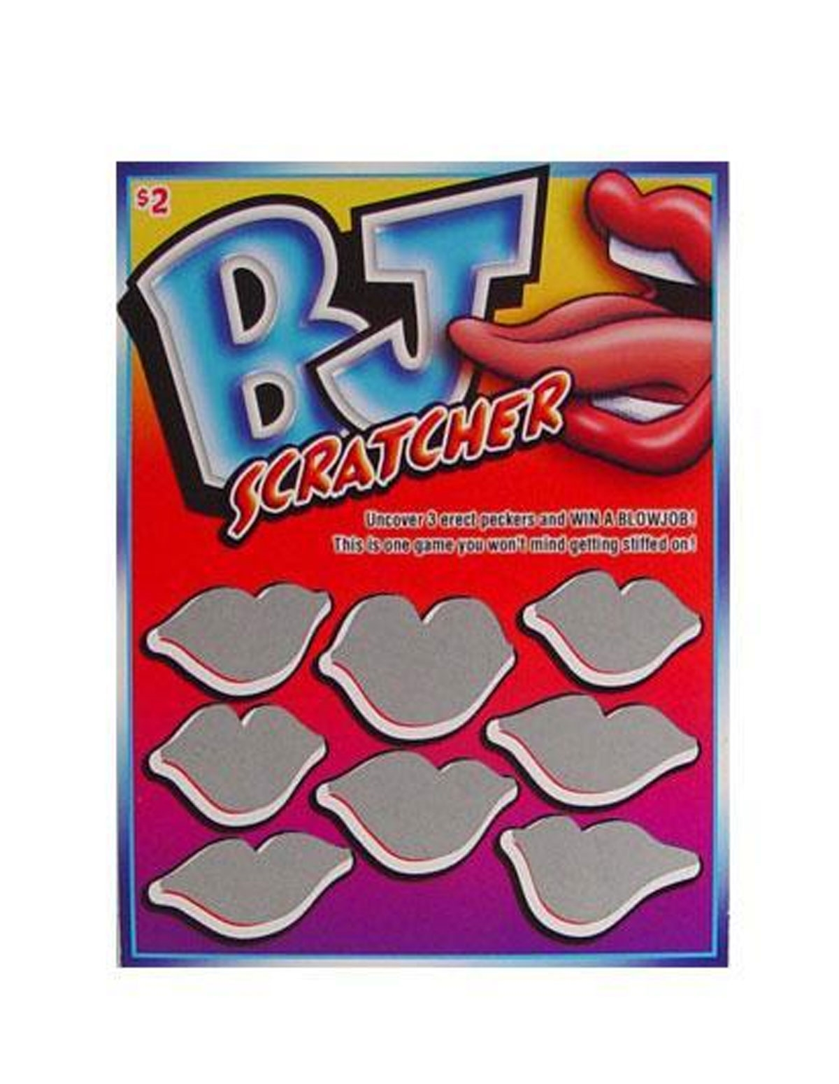 Bj Scratchers Game