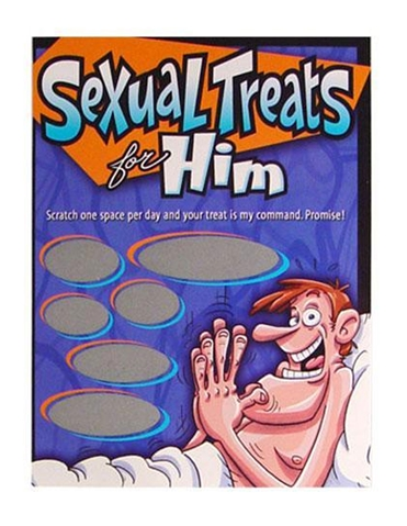 SEXUAL TREATS FOR HIM GAME
