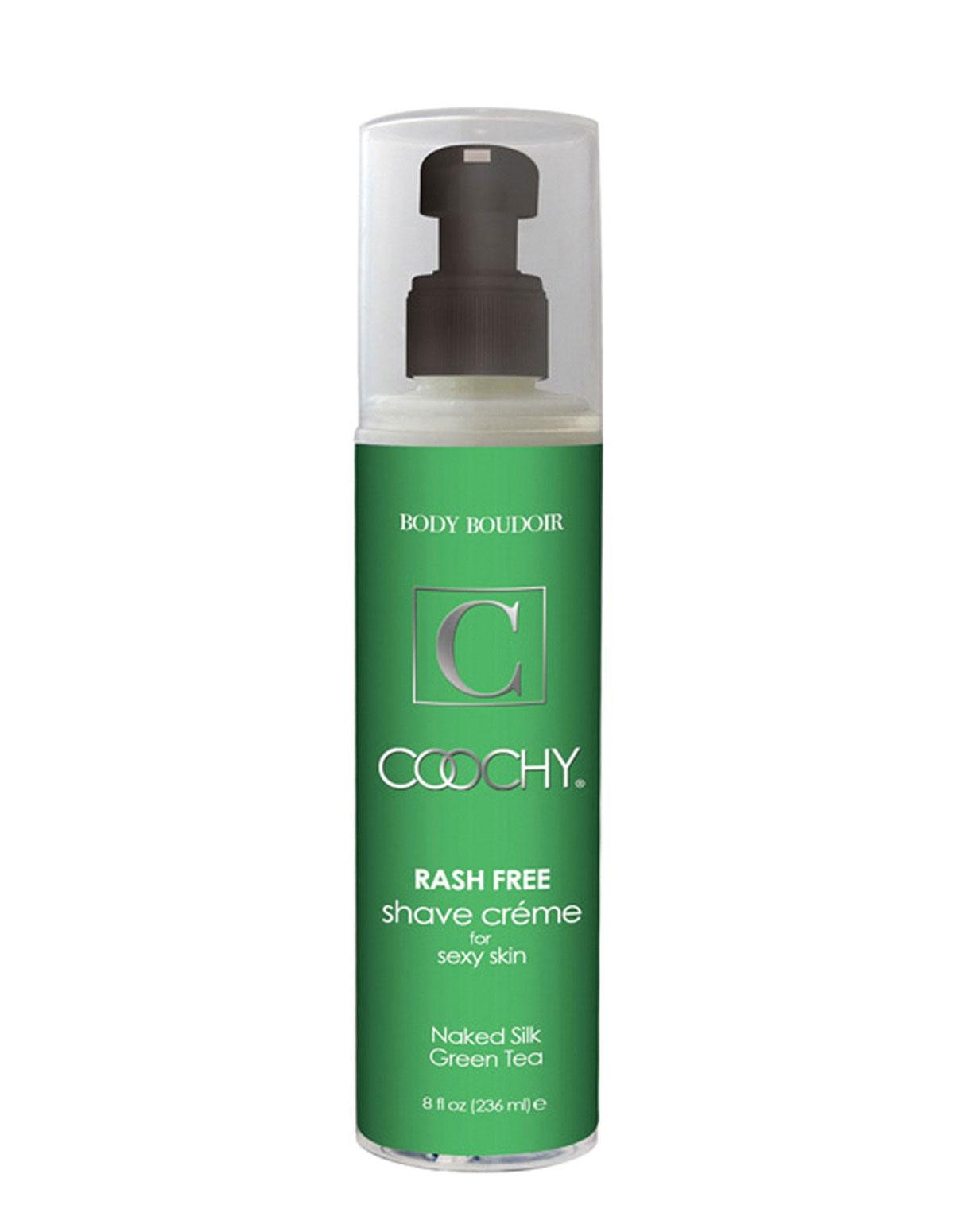 Coochy 8 Oz Green Tea Shave Cream